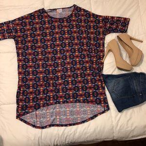 LulaRoe long shirt in medium, CUTE PATTERN